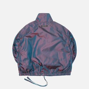 Fear Of God Pullover Track Jacket - Blue Iridescent Image 2