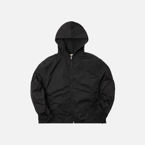 Fear Of God Nylon Full-Zip Hoodie - Black
