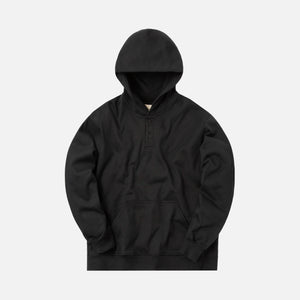 Fear Of God Everyday Henley Hoodie - Black