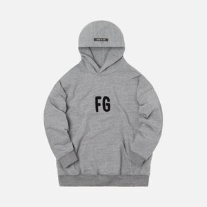 Fear Of God Everyday FG Hoodie - Heather Grey