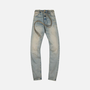 Fear Of God Slim Denim Jean 5 Year - Vintage Dirty Wash Image 1