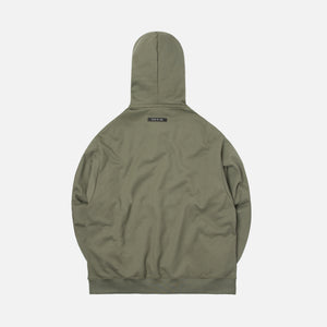 Fear Of God Everyday Henley Hoodie - Army Green Image 2
