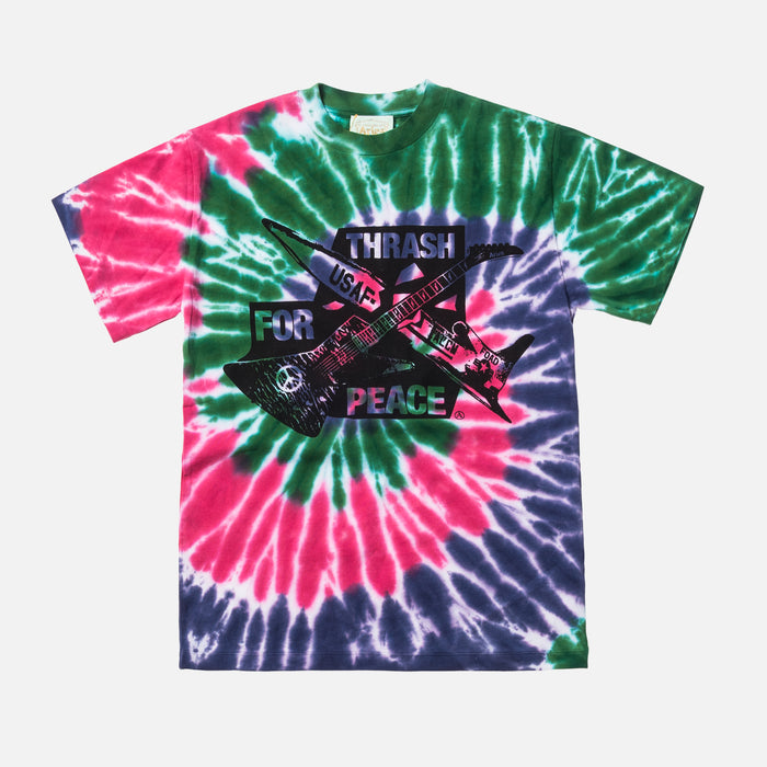 Aries Arise Thrash for Peace Tee - Multicolor