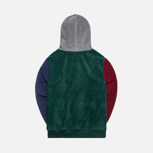 Aimé Leon Dore Polar Fleece Blocked Hoodie - Multi Image 2