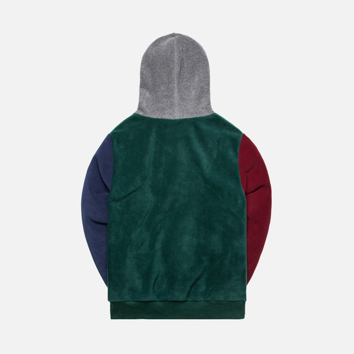 Aimé Leon Dore Polar Fleece Blocked Hoodie - Multi