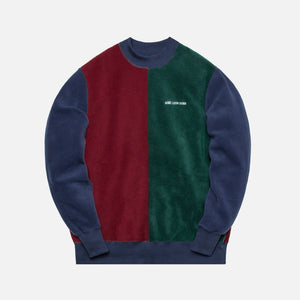 Aimé Leon Dore Polar Fleece Blocked Crewneck - Multi