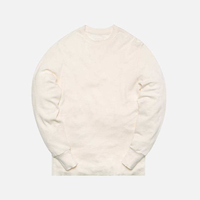 Aimé Leon Dore L/S Distressed Birdseye Thermal - Cream