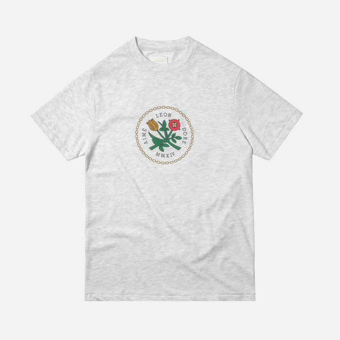 Aimé Leon Dore Home Crest Tee - Grey Mix