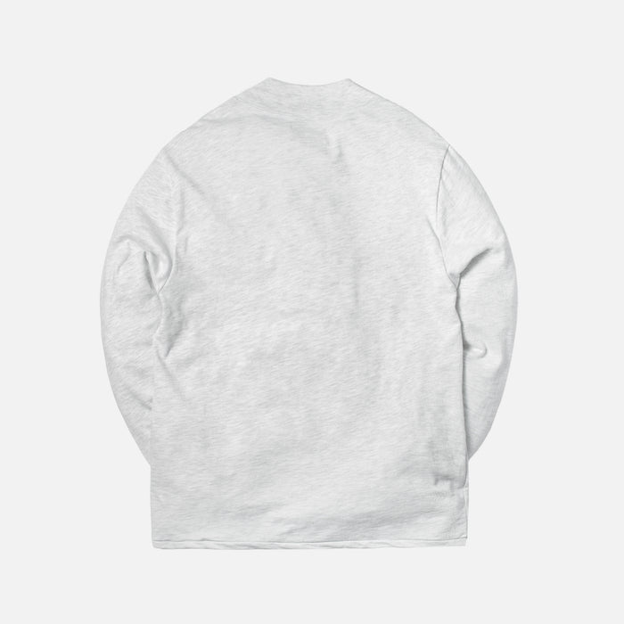 Aimé Leon Dore L/S Mockneck w/ Dimebag Pocket - Grey Mix