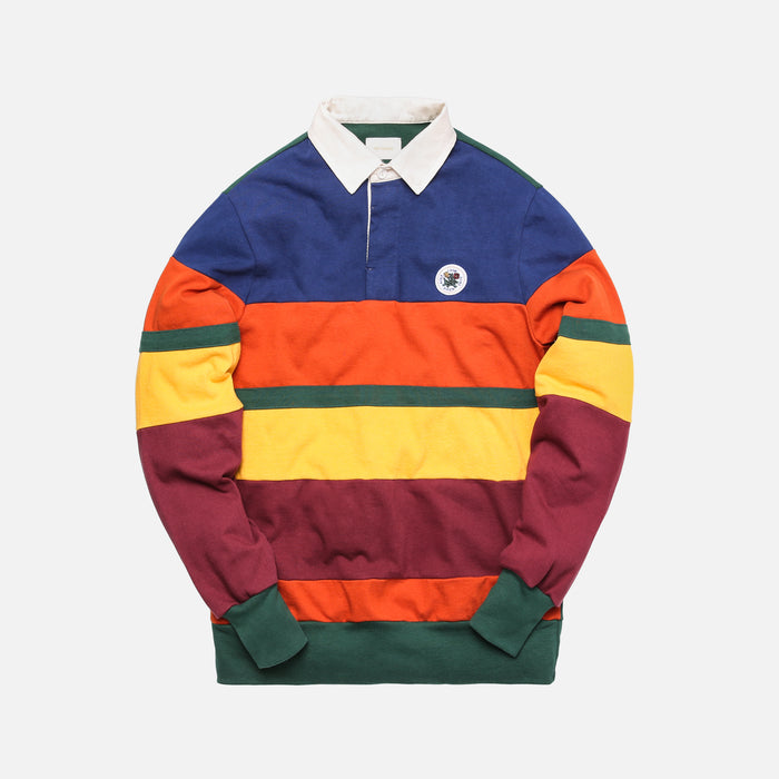Aimé Leon Dore L/S Color Block Rugby - Navy