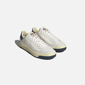 adidas Consortium Rod Laver Lux Leather - White / Collegiate Navy