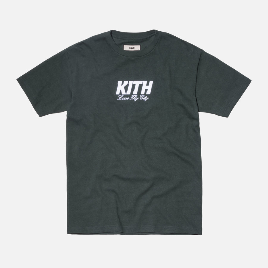 Kith Love Thy City Tee - Hunter Green