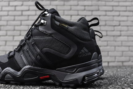 adidas Outdoor Fast X High GTX - Black / Grey / Red