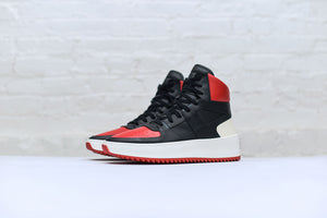 Fear of God Retro Basketball Sneaker - Black / Red