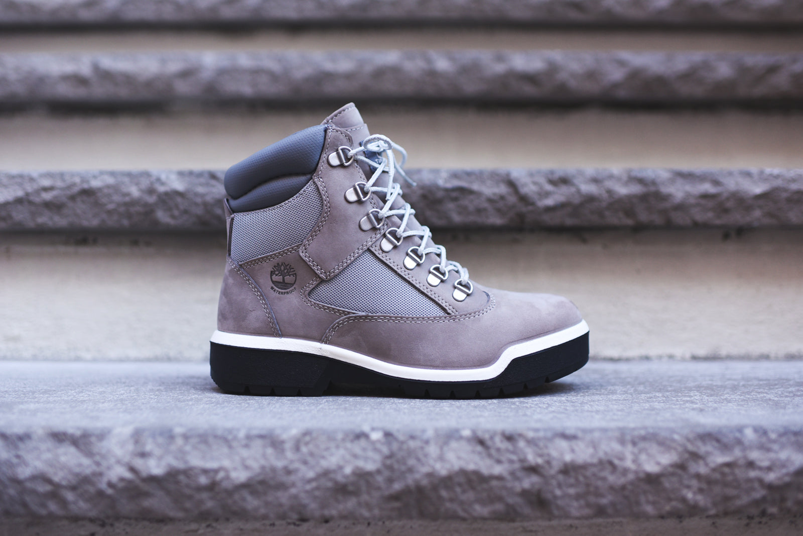"Timberland 6"" Field Boot WP - Light Grey"