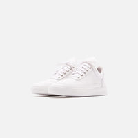 Filling Pieces Low Top Ripple Lane Nappa - All White Thumbnail 3
