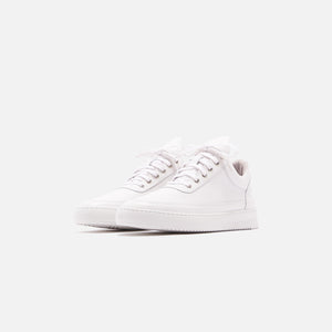 Filling Pieces Low Top Ripple Lane Nappa - All White Image 3