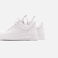 Filling Pieces Low Top Ripple Lane Nappa - All White Thumbnail 5