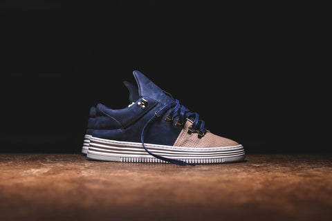 Filling Pieces Mountain Cut Low - Salmon / Navy