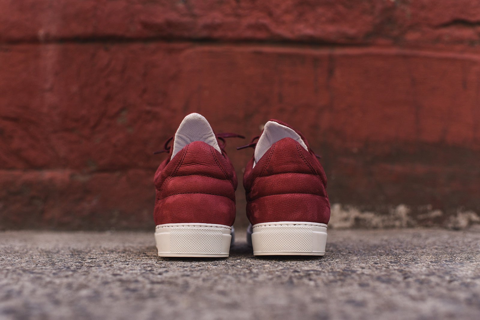 Filling Pieces Low Top - Maroon