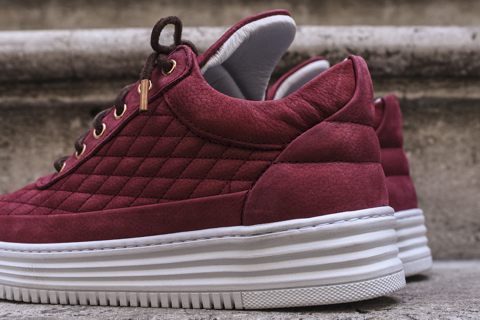 Filling Pieces WMNS Low Top - Red