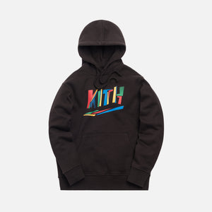 Kith Fractured Hoodie - Espresso