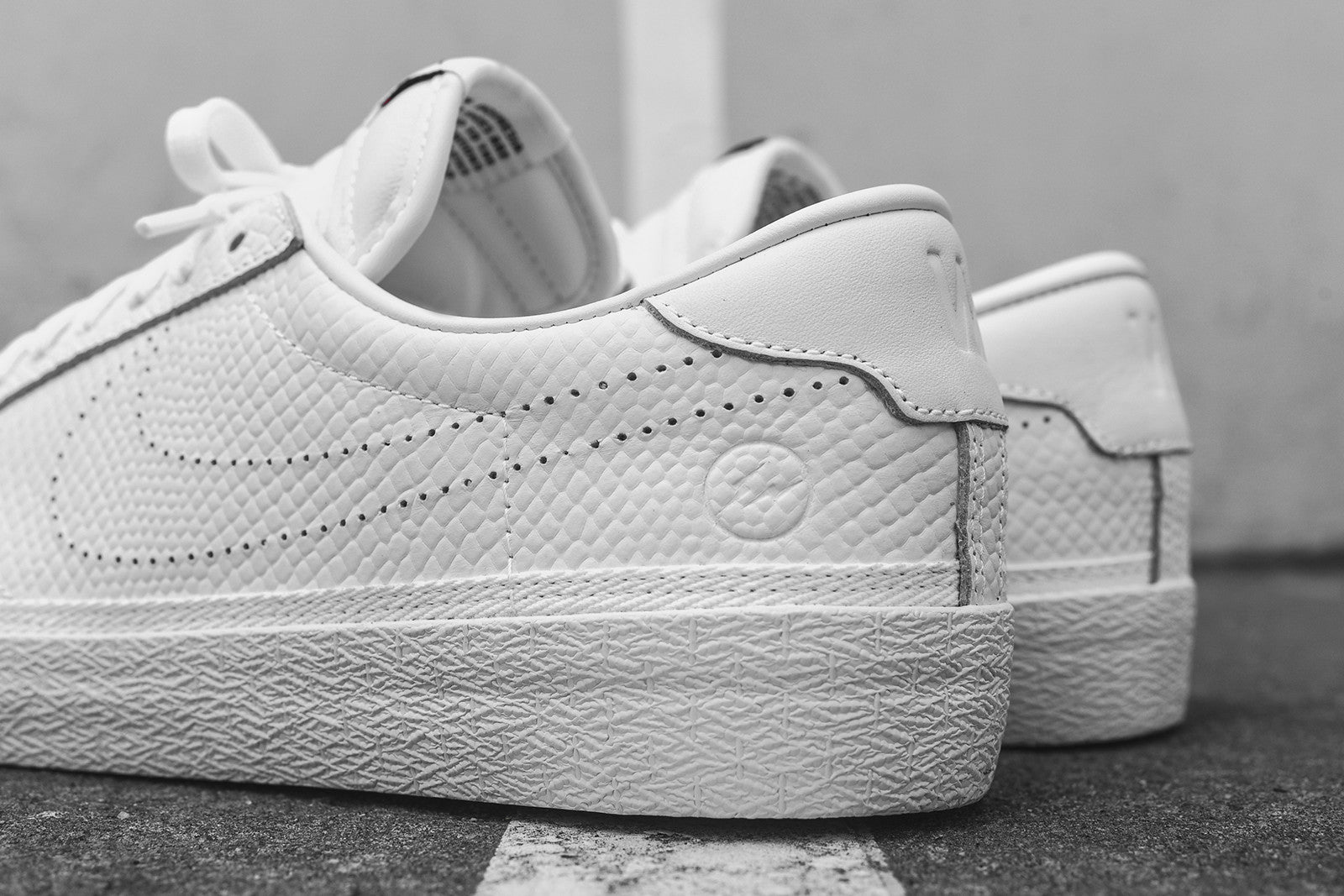 Nike x Fragment Design Air Zoom Tennis Classic AC - Triple White