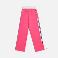 GCDS Wide Tracksuit Pants - Fuschia Thumbnail 1