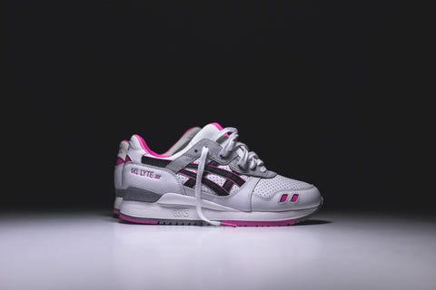 Asics Gel Lyte III - White / Black / Pink
