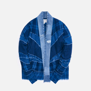 Greg Lauren Mixed Indigo GL1 Studio - Blue