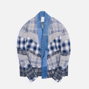 Greg Lauren Mixed GL1 Studio - Blue / White