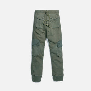 Greg Lauren Utility Sweat - Army Green