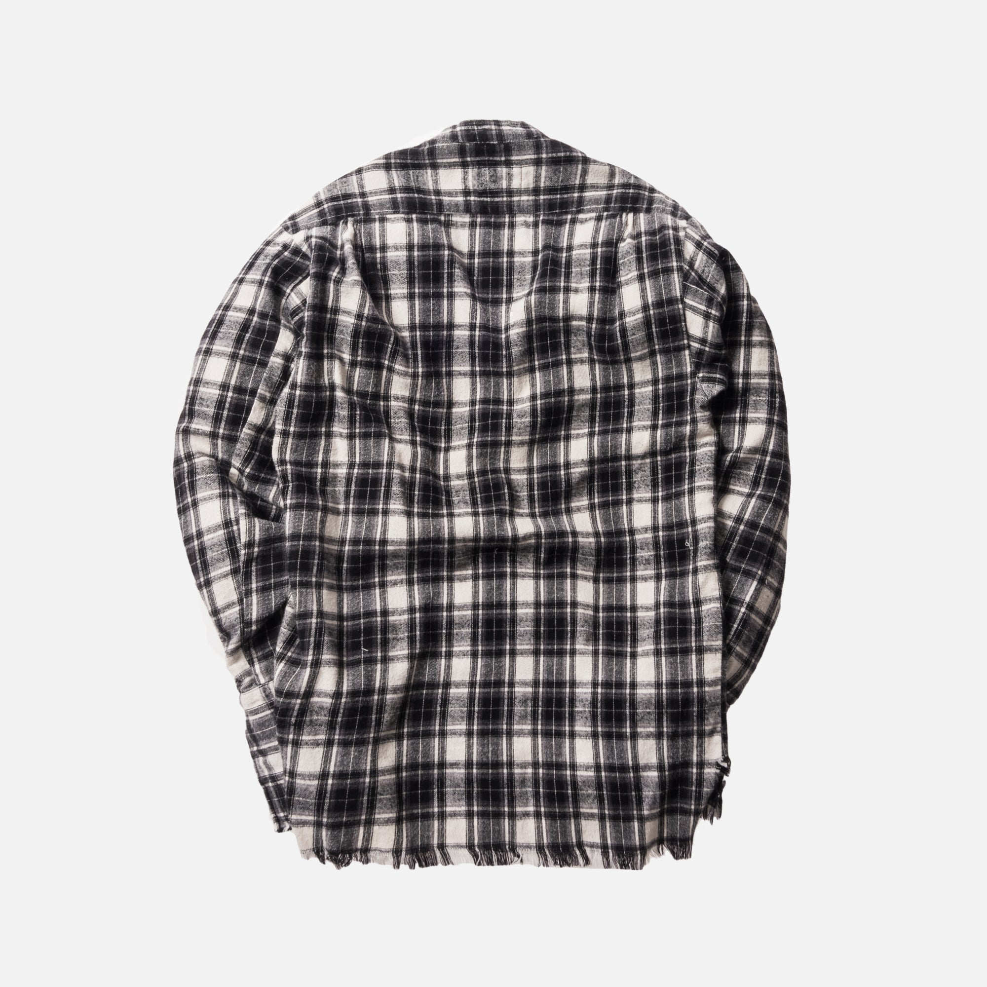 Greg Lauren Falcon Flannel Studio Shirt - Black / White
