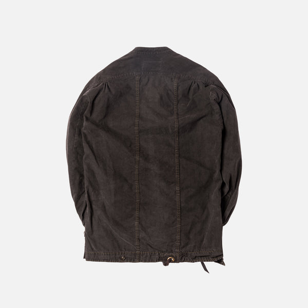 Greg Lauren Patchwork Tent Studio Jacket - Charcoal