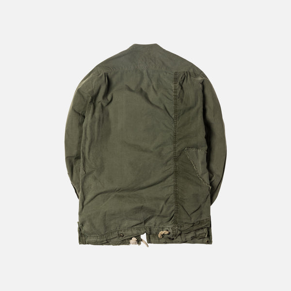 Greg Lauren Army Patchwork Tent Studio Jacket - Olive