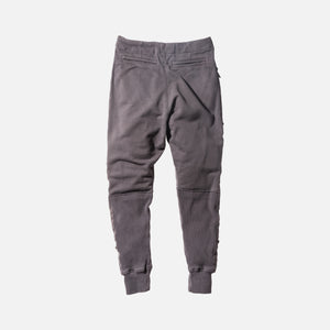 Greg Lauren Slim Lounge Pant - Charcoal