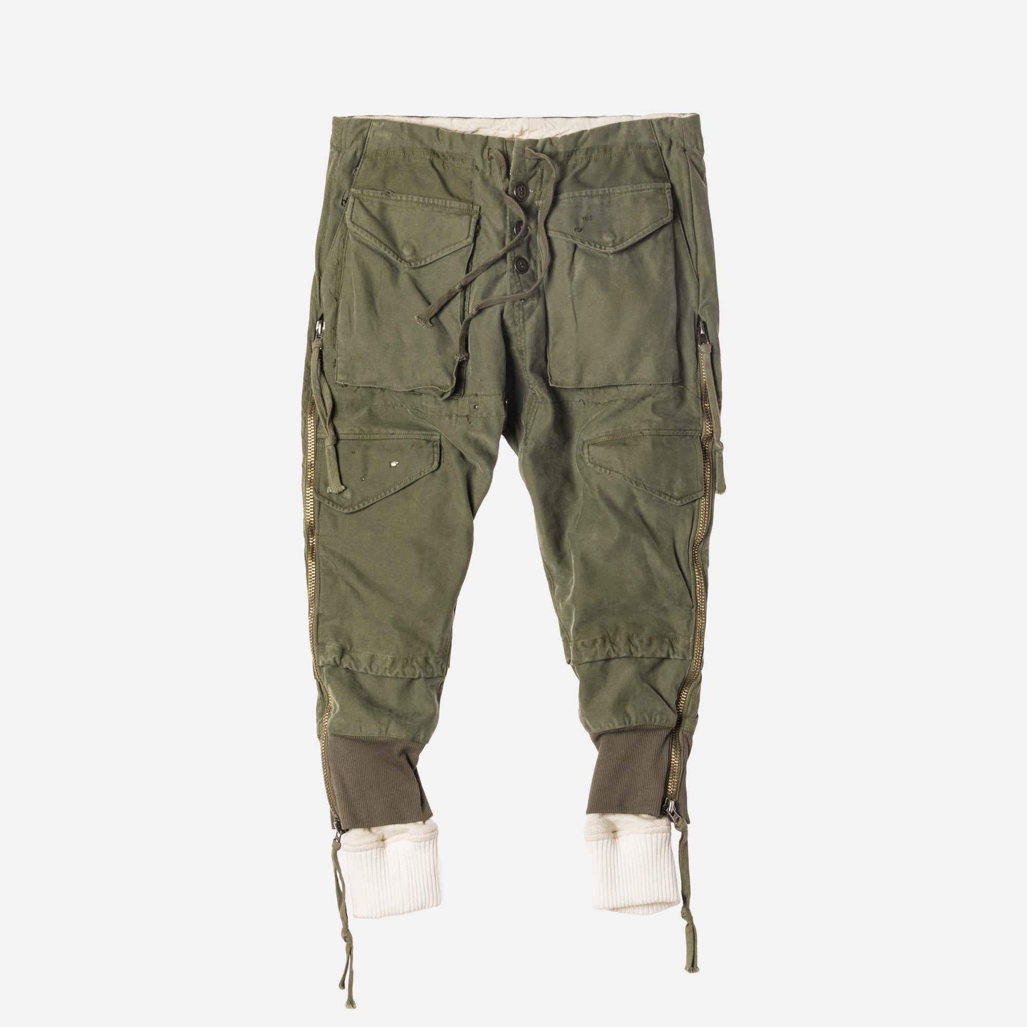 Greg Lauren Lounge Pant - Army