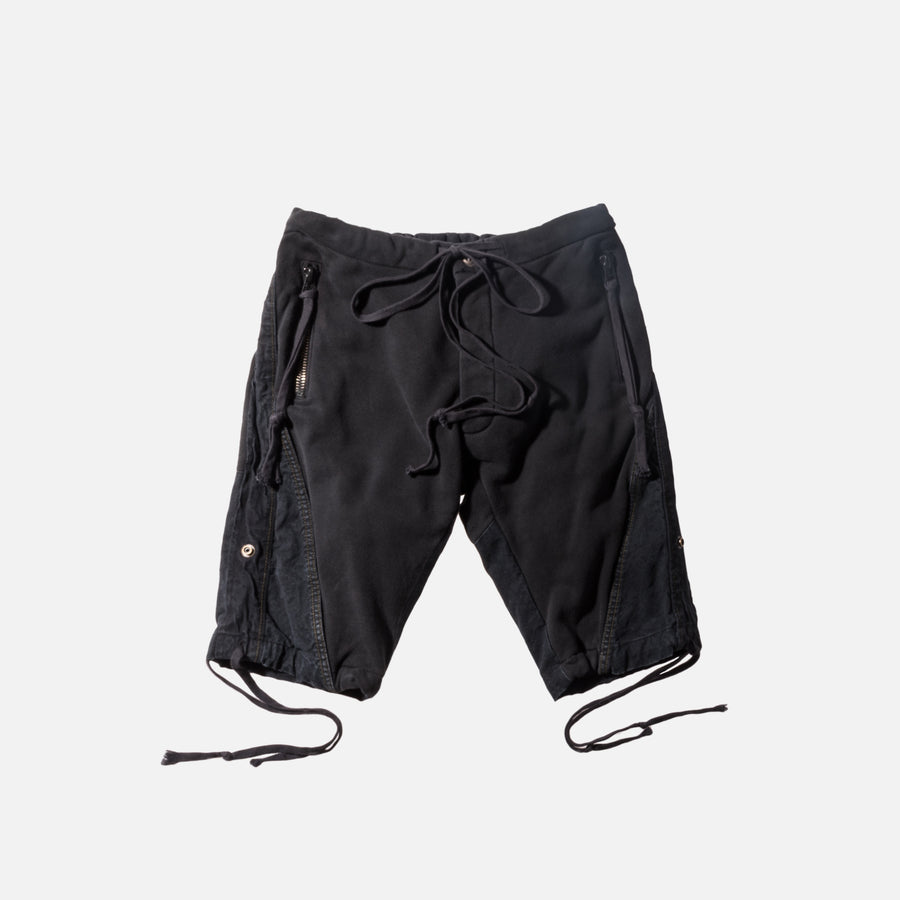 Greg Lauren GL1 Slim Fit Short - Black