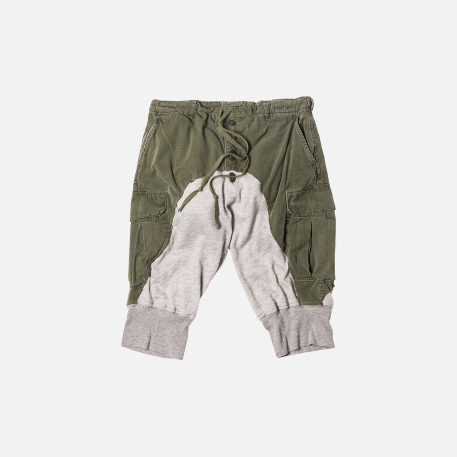 Greg Lauren Jungle Pant / Lounge Short - Army