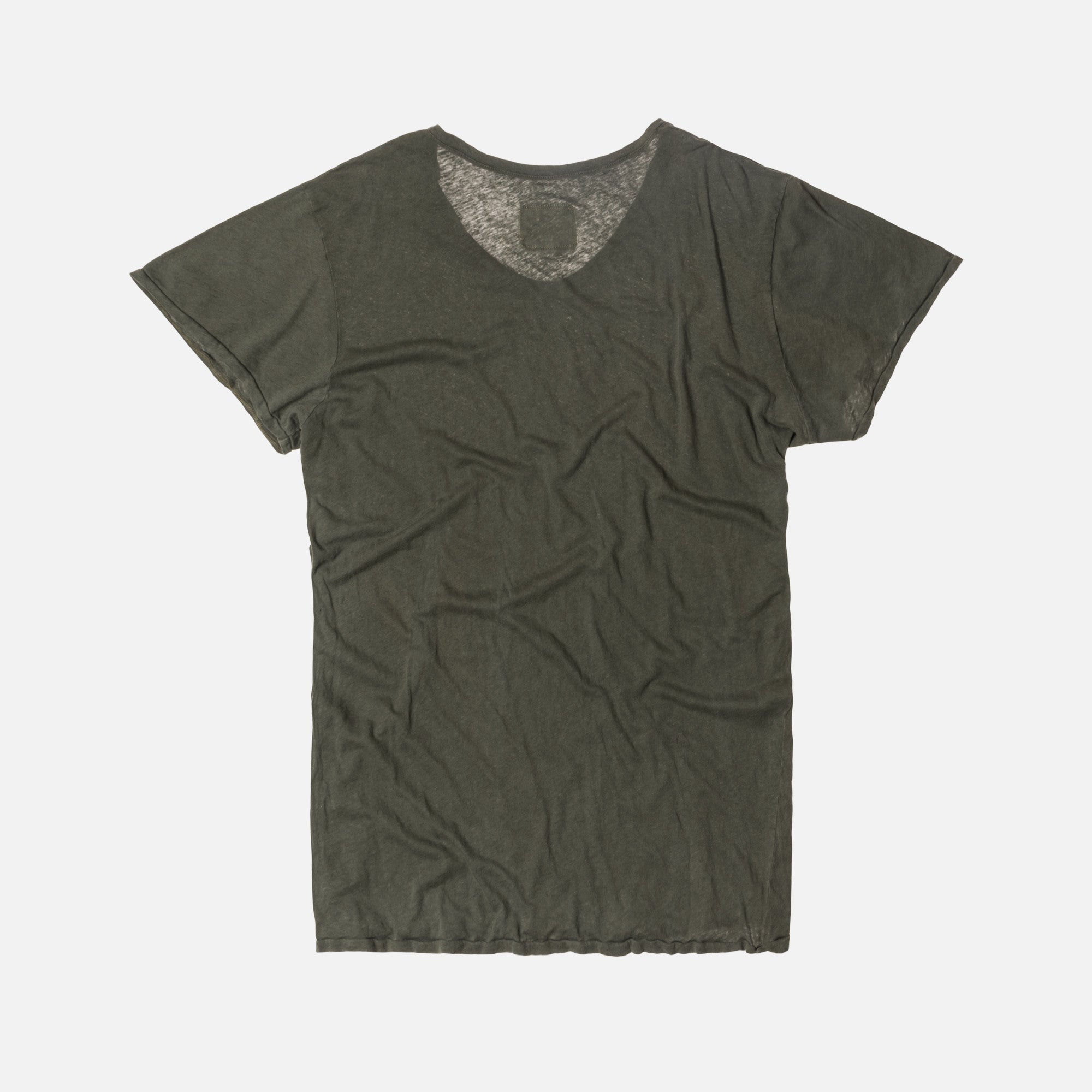 Greg Lauren Slouchy Tee - Green