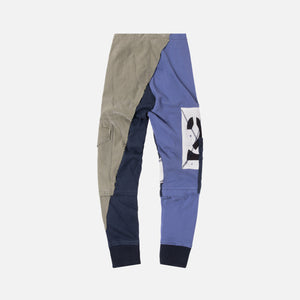 Greg Lauren Deconstructed Rugby Pant - Navy / Olive