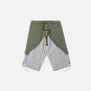 Greg Lauren 50/50 Terry Short - Army