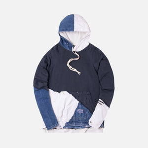 Greg Lauren 50/50 Painter Hoodie - Navy