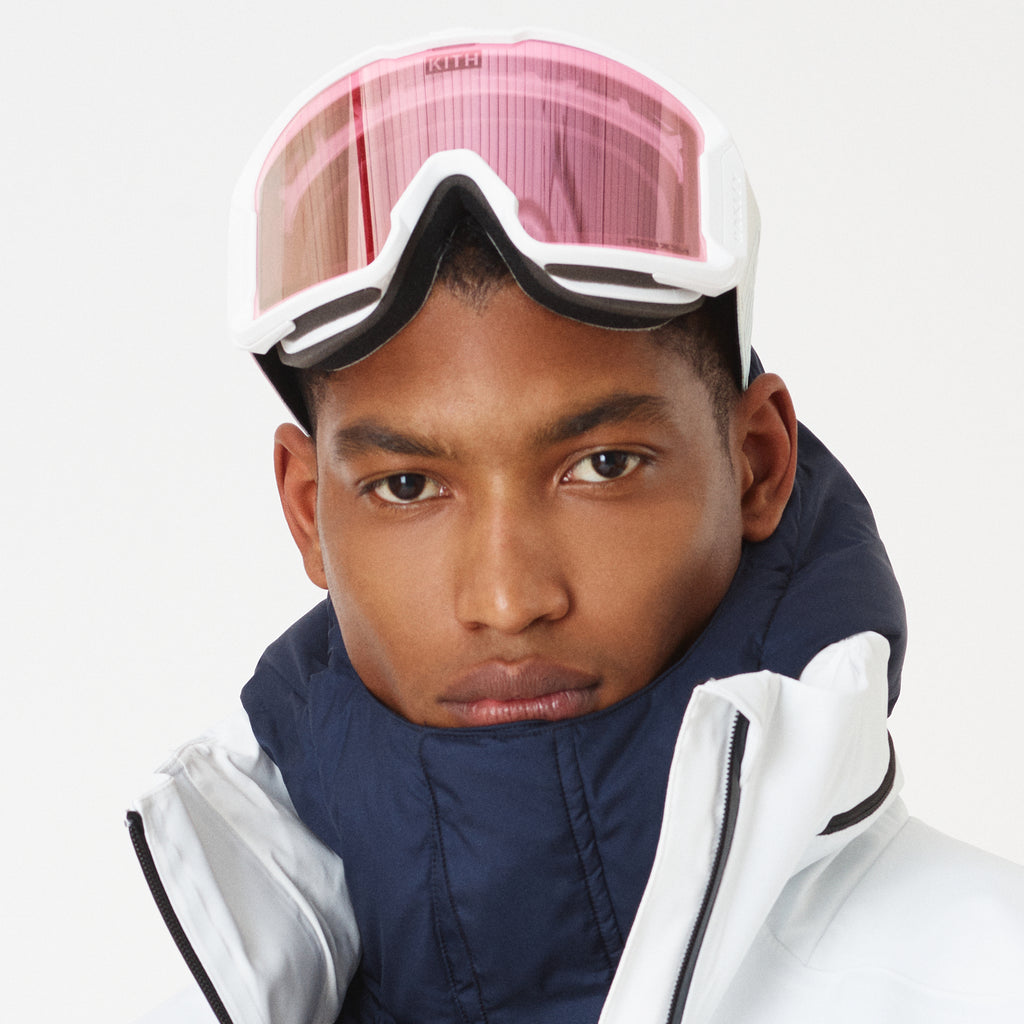 Kith x Oakley Line Miner Goggle - White / Pink-look