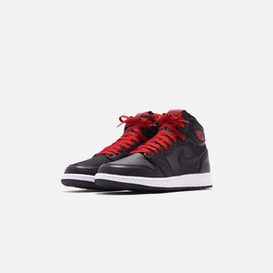 Nike Grade School Air Jordan 1 Retro High OG - Metallic Silver / Gym Red / White / Black Image 3
