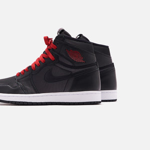 Nike Grade School Air Jordan 1 Retro High OG - Metallic Silver / Gym Red / White / Black Image 5