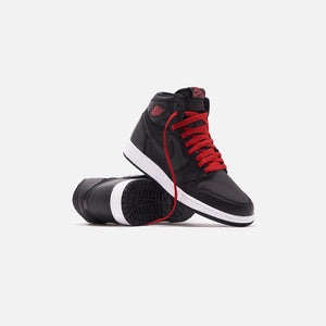 Nike Grade School Air Jordan 1 Retro High OG - Metallic Silver / Gym Red / White / Black Image 2