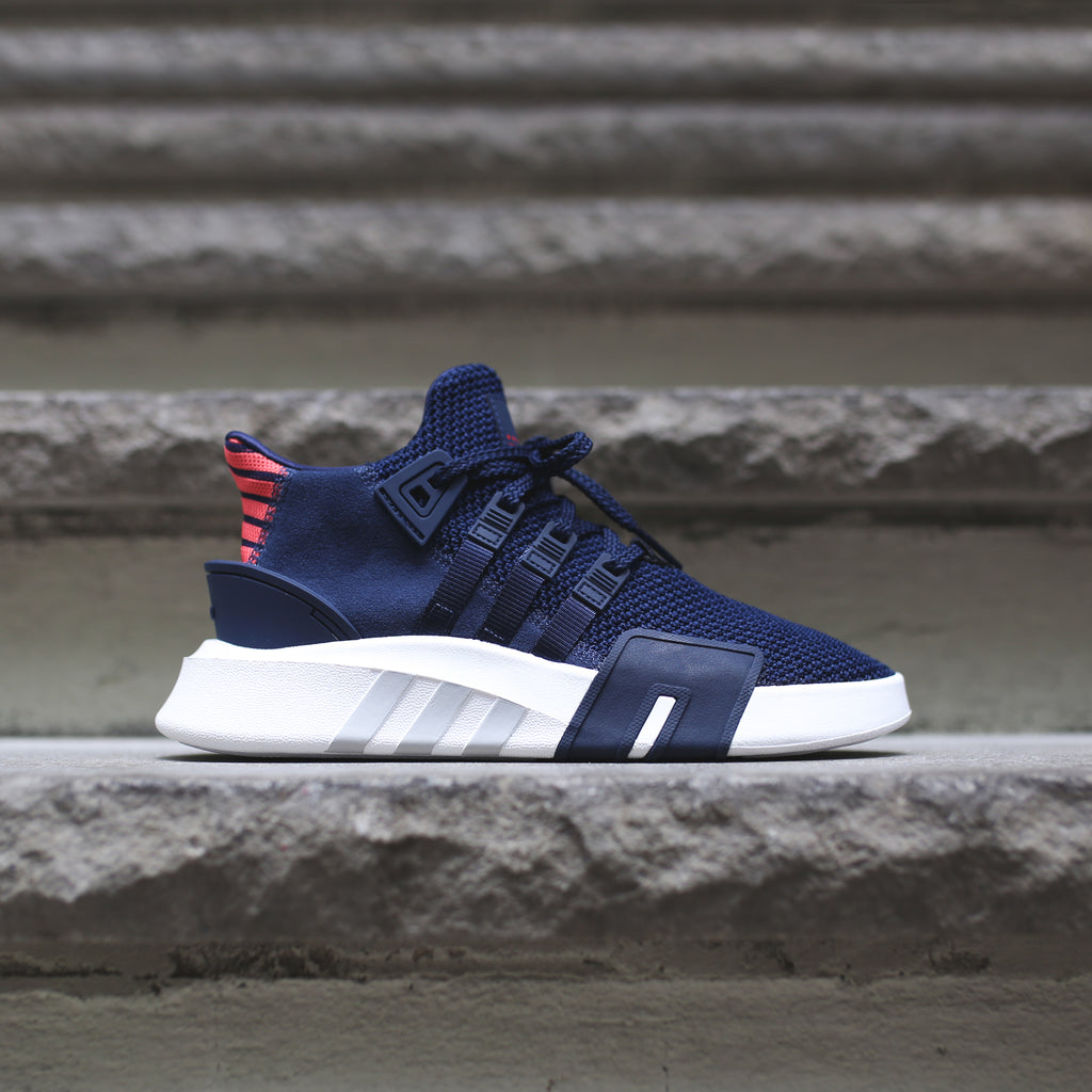 buy online 41867 28db5 adidas Originals Junior EQT Basketball ADV - Navy / White