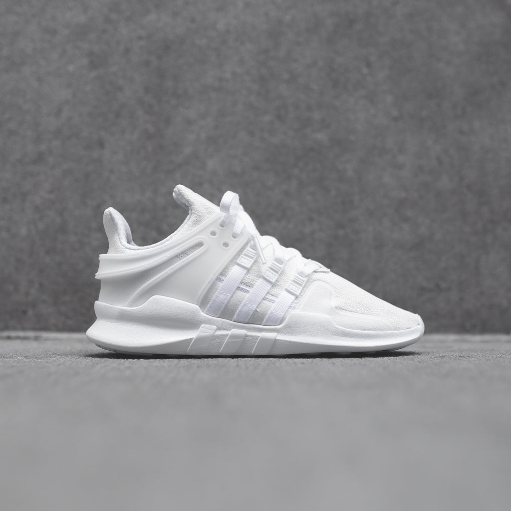 new style 97793 649fb adidas Originals Junior EQT Support ADV - Triple White