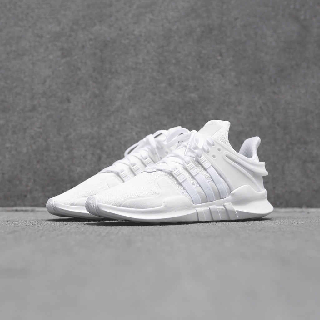 new style 1a30a 3432a adidas Originals Junior EQT Support ADV - Triple White